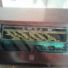 Radios de válvulas: RADIO PHILIPS 170A. Lote 39697424