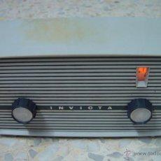 Radios de válvulas: RADIO DE VALVULAS INVICTA V-310 FUNCIONANDO A 220V.....SANNA. Lote 39916362
