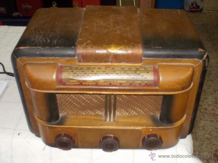 RADIO LAK MOD 765 (Radios, Gramófonos, Grabadoras y Otros - Radios de Válvulas)
