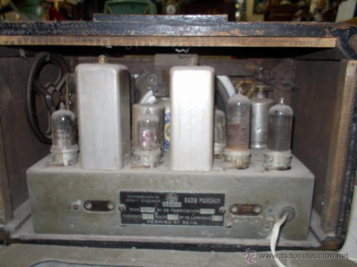 Radios de válvulas: Radio Lak Mod 765 - Foto 12 - 40268079
