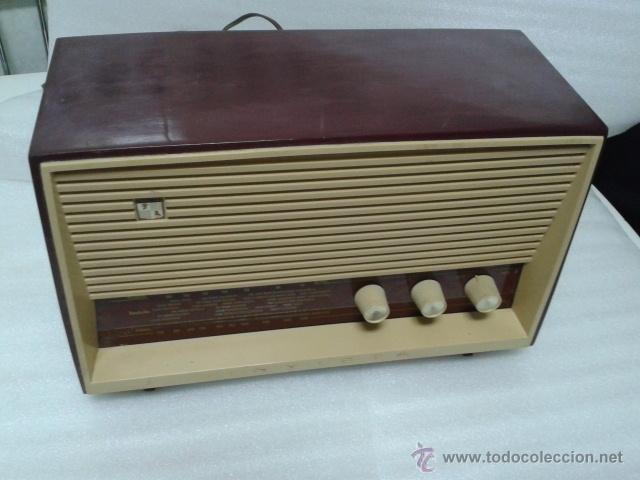 Radios de válvulas: ANTIGUA Y PEQUEÑA RADIO- INVICTA MOD. 5367. FUNCIONANDO. - Foto 6 - 40719017