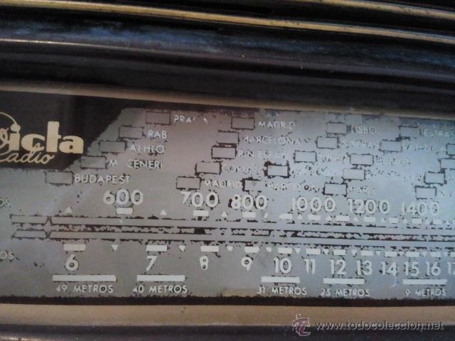 Radios de válvulas: Radio Invicta modelo 5207 - Foto 8 - 39696538