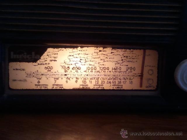 Radios de válvulas: Radio Invicta modelo 5207 - Foto 10 - 39696538