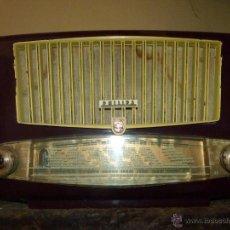 Radios de válvulas: PRECIOSA RADIO ANTIGUA PHILIPS TOTALMENTE ORIGINAL. Lote 41201847