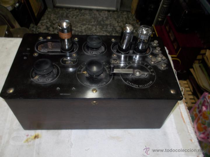 RADIOLA IIIA (Radios, Gramófonos, Grabadoras y Otros - Radios de Válvulas)