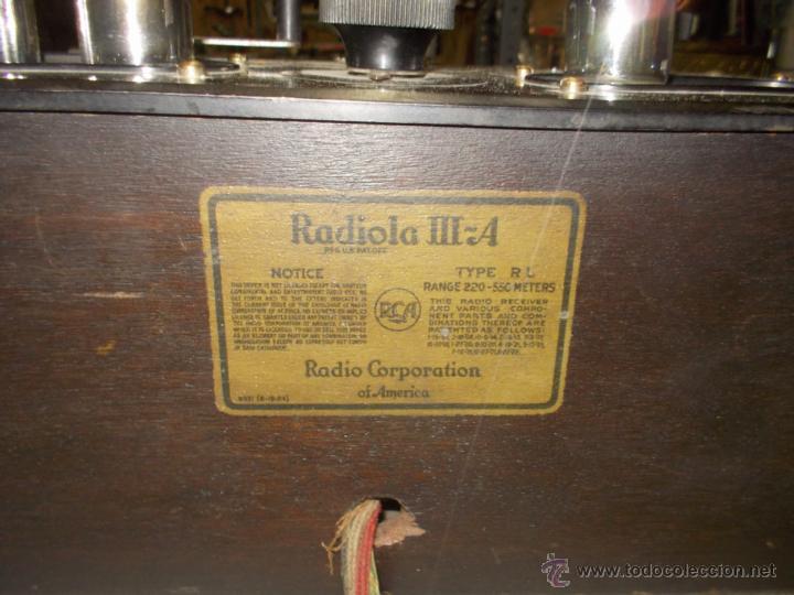 Radios de válvulas: Radiola IIIA - Foto 3 - 41302657