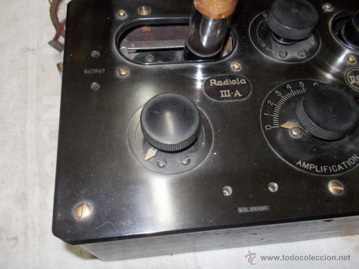 Radios de válvulas: Radiola IIIA - Foto 8 - 41302657