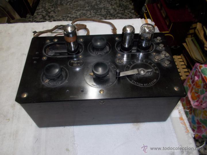 Radios de válvulas: Radiola IIIA - Foto 13 - 41302657