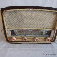Radios de válvulas: ANTIGUA RADIO BERTRAN DE VALVULAS SIN MARCA MODELO 754 BARCELONA. Lote 41406965