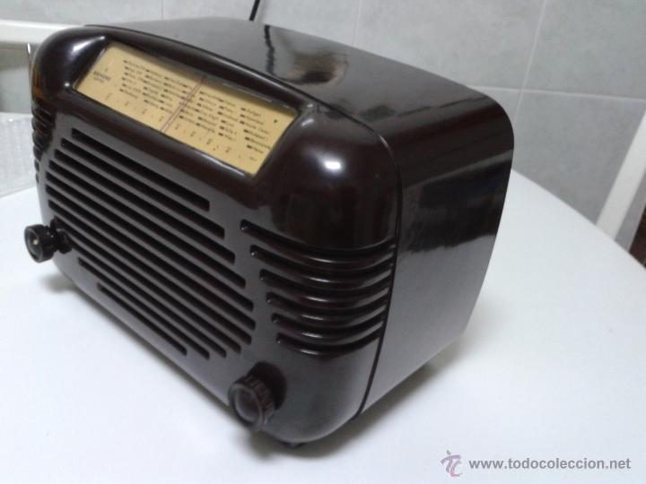 Radios de válvulas: Antigua y coqueta radio SIEMENS - SUPER 513 U. 1951 . FUNCIONANDO a 220 V - Foto 5 - 41049640