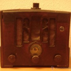 Radios de válvulas: RADIO DE MADERA MUY ANTIGUA.. Lote 41460896