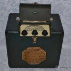 Radios de válvulas: CURIOSO RADIO DE MALETA DE CINCO VALVULAS,MARCA ROBERTS-RADIO DE 1946. Lote 41850594
