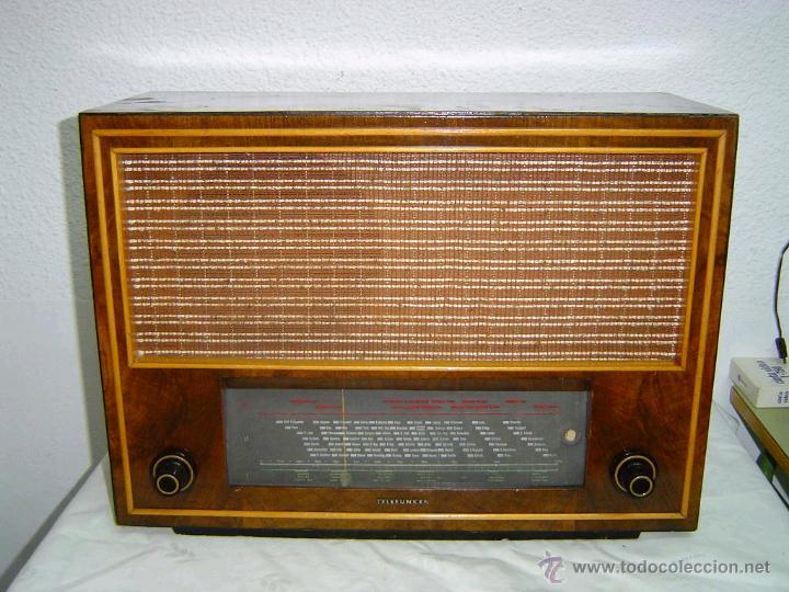 RADIO TELEFUNKEN SUPER PIZARRO 165 (Radios, Gramófonos, Grabadoras y Otros - Radios de Válvulas)
