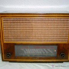 Radios de válvulas: RADIO TELEFUNKEN SUPER PIZARRO 165. Lote 42033437