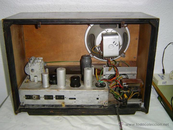 Radios de válvulas: RADIO TELEFUNKEN SUPER PIZARRO 165 - Foto 2 - 42033437