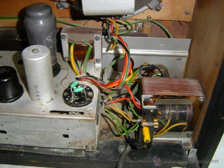 Radios de válvulas: RADIO TELEFUNKEN SUPER PIZARRO 165 - Foto 4 - 42033437
