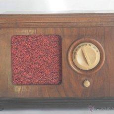 Radios de válvulas: RADIO DE MADERA ANTIGUA. Lote 42066893