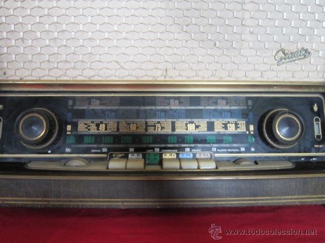 Radios de válvulas: Radio Guetz con caja de madera. - Foto 4 - 25804893