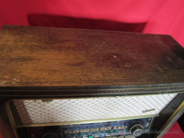Radios de válvulas: Radio Guetz con caja de madera. - Foto 6 - 25804893