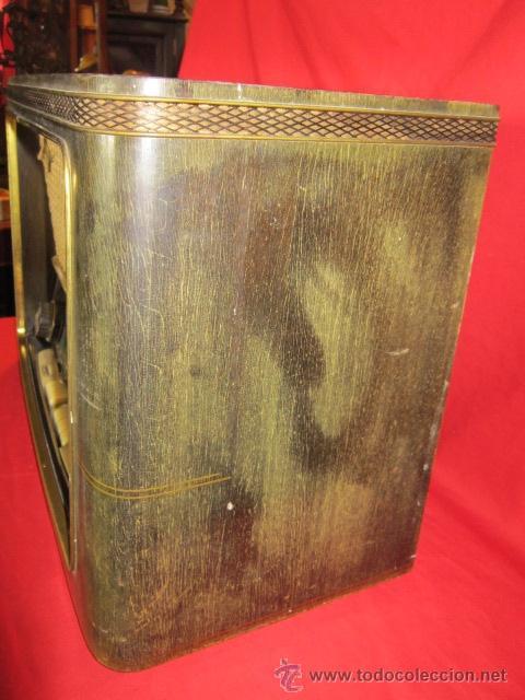 Radios de válvulas: Radio Guetz con caja de madera. - Foto 8 - 25804893
