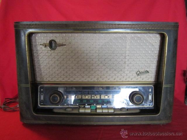 Radios de válvulas: Radio Guetz con caja de madera. - Foto 15 - 25804893