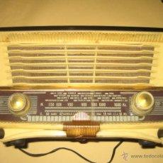 Radio a valvole: ANTIGUA RADIO INRAT - MADERA Y PASTA - 5 VALVULAS - FUNCIONA - VER FOTOS. Lote 292545853
