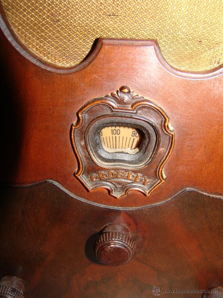 Radios de válvulas: PRECIOSA RADIO DE CAPILLA MARCA CROSLEY(USA).AÑO 1934. - Foto 3 - 42994408