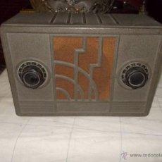 Radios de válvulas: RADIO RCA MODEL 102. Lote 43253590