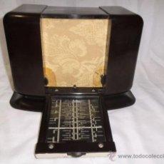 Radios de válvulas: ANTIGUA RADIO DE BAQUELITA , FRANCES, MUY RARA. Lote 43257482