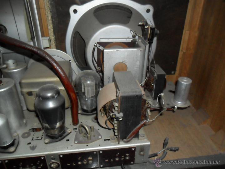 Radios de válvulas: APARATO DE RADIO EN MADERA DE NOGAL - AÑOS 40 DE LA CASA SIEMENS - Foto 6 - 43425323