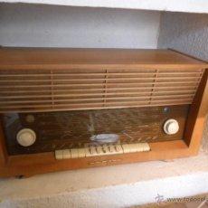Radios de válvulas: RADIO DE VÁLVULAS GRUNDIG ANTIGUA. Lote 43535045