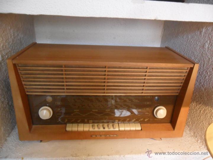 Radios de válvulas: RADIO DE VÁLVULAS GRUNDIG ANTIGUA - Foto 2 - 43535045