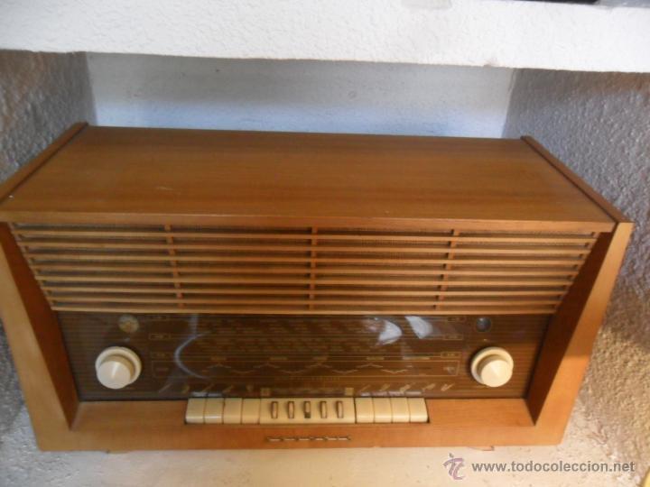 Radios de válvulas: RADIO DE VÁLVULAS GRUNDIG ANTIGUA - Foto 3 - 43535045