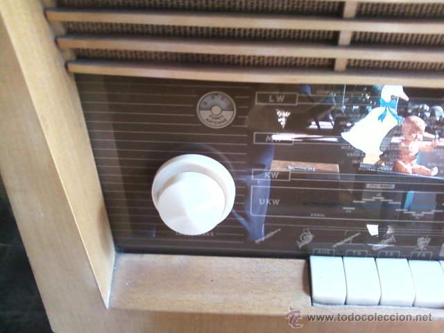 Radios de válvulas: RADIO DE VÁLVULAS GRUNDIG ANTIGUA - Foto 6 - 43535045