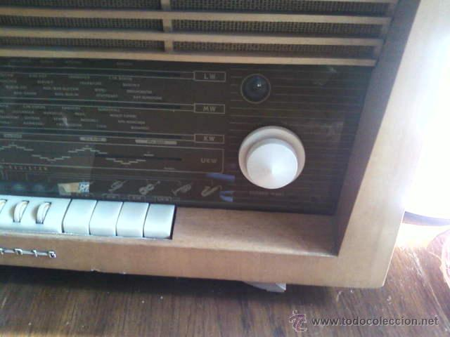 Radios de válvulas: RADIO DE VÁLVULAS GRUNDIG ANTIGUA - Foto 7 - 43535045