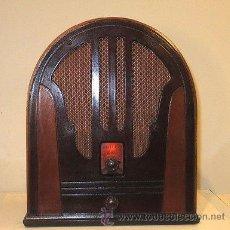 Radios de válvulas: RADIO DE CAPILLA PHILCO MODELO 84 DE LOS AÑOS 30 EN PLENO FUNCIONAMIENTO. Lote 71240870