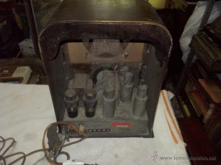 Radios de válvulas: Radio Crosley Modelo 150 - Foto 3 - 43830110