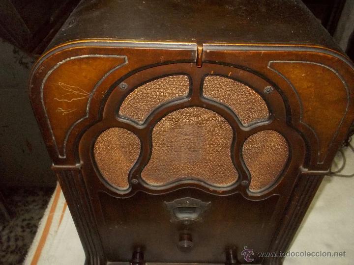 Radios de válvulas: Radio Crosley Modelo 150 - Foto 4 - 43830110