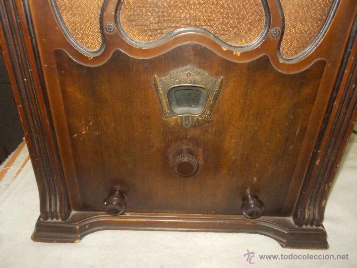 Radios de válvulas: Radio Crosley Modelo 150 - Foto 5 - 43830110