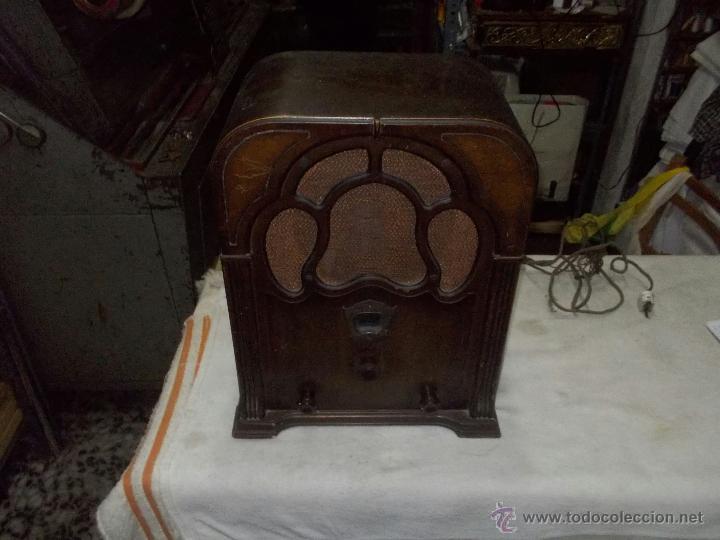 Radios de válvulas: Radio Crosley Modelo 150 - Foto 9 - 43830110