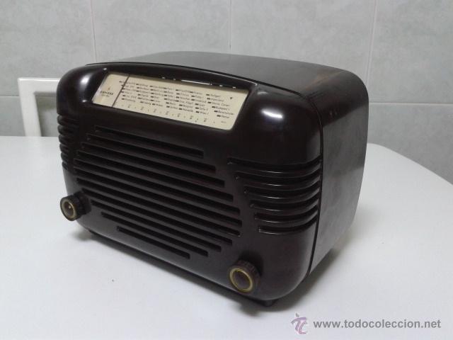 Radios de válvulas: Antigua y coqueta radio SIEMENS - SUPER 513 U. 1951 . FUNCIONANDO a 220 V - Foto 6 - 41049640