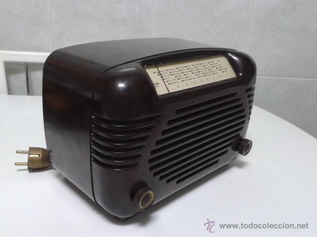 Radios de válvulas: Antigua y coqueta radio SIEMENS - SUPER 513 U. 1951 . FUNCIONANDO a 220 V - Foto 8 - 41049640