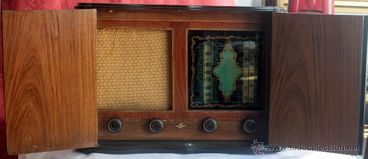ANTIGUA RADIO AGRIS MOD TP=U (Radios, Gramófonos, Grabadoras y Otros - Radios de Válvulas)