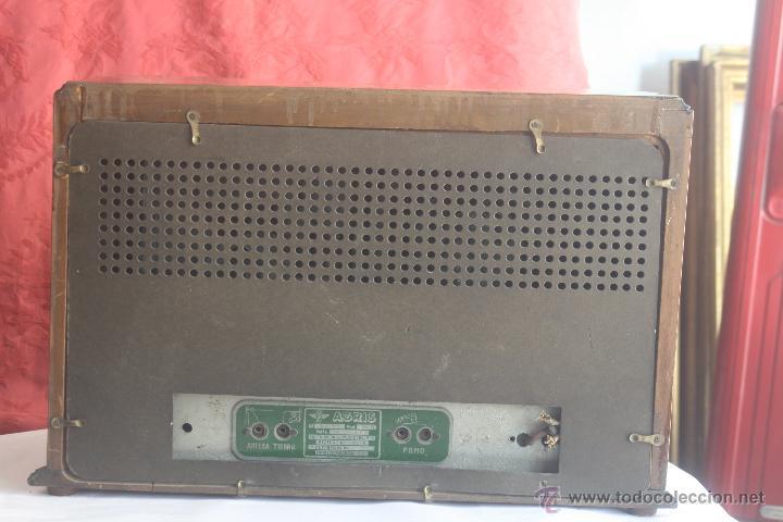 Radios de válvulas: ANTIGUA RADIO AGRIS MOD TP=U - Foto 5 - 44066935