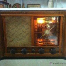 Radios de válvulas: RADIO VALVULAS INTER. Lote 44302135