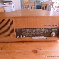 Radios de válvulas: RADIO DE LUJO ALEMANA LOEWE OPTA BELLA JUBILAR. FUNCIONANDO. Lote 44370225