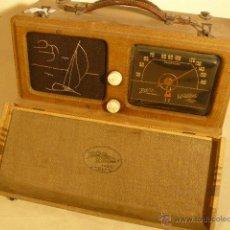 Radios de válvulas - ANTIGUA RADIO PORTATIL ZENITH UNIVERSAL - 44422818
