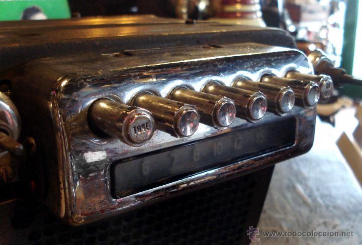 Radios de válvulas: Antigua Auto Radio Valvulas Cadillac Delco 1946 47 Model 7253207 Excelente Estado general sin probar - Foto 2 - 44651853