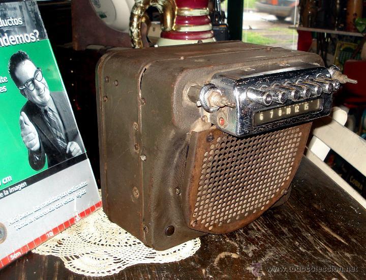 Radios de válvulas: Antigua Auto Radio Valvulas Cadillac Delco 1946 47 Model 7253207 Excelente Estado general sin probar - Foto 3 - 44651853