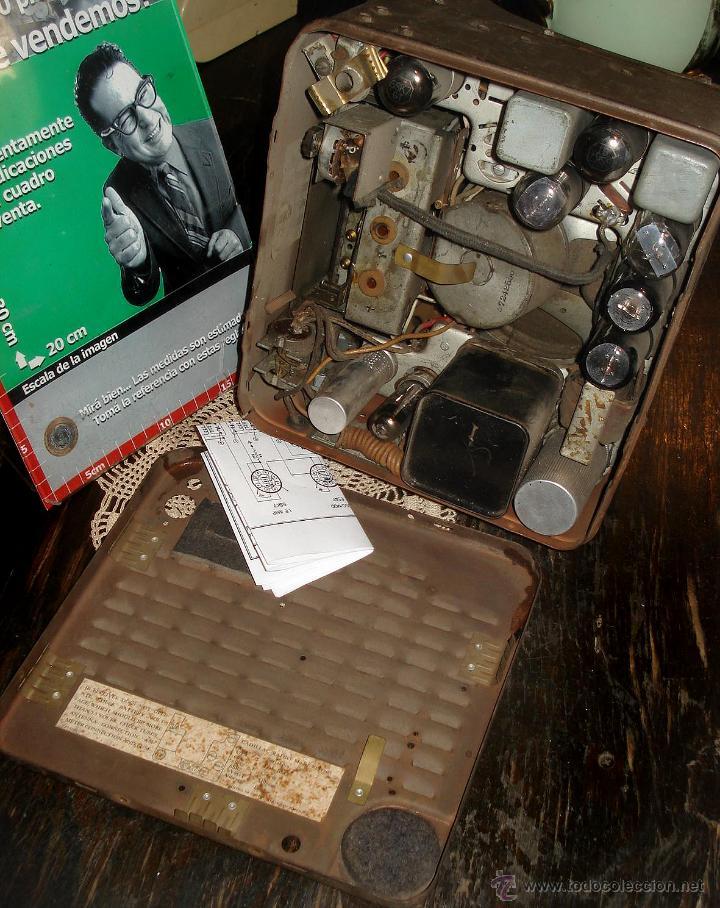 Radios de válvulas: Antigua Auto Radio Valvulas Cadillac Delco 1946 47 Model 7253207 Excelente Estado general sin probar - Foto 4 - 44651853